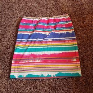 Cato girls multicolored midi skirt